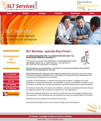 SLT Services est une conciergerie et agence de services en entreprise